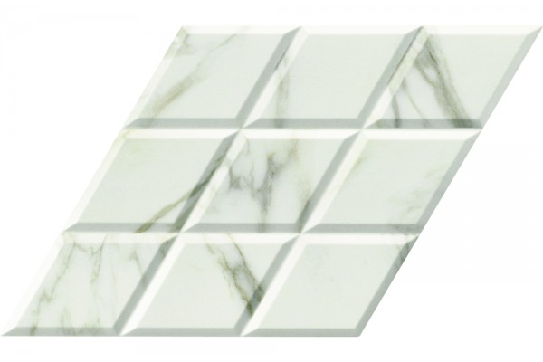 Керамогранит Diamond Statuario Deco 70x40 (0,84) Diamond, Realonda