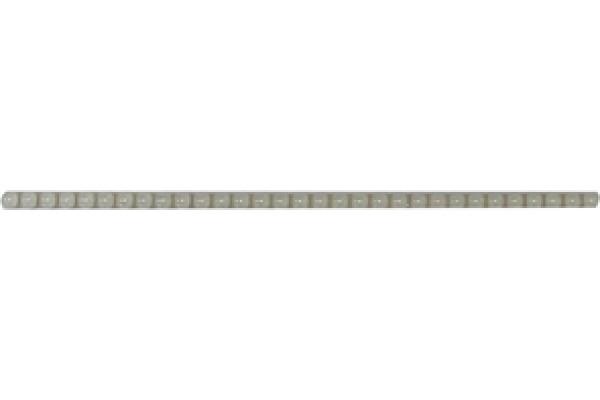 Бордюр Бусинки White 250х6х11 36