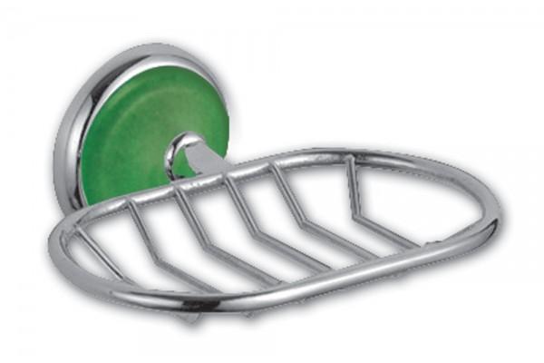 Мыльница-решетка IGUANA, зеленая