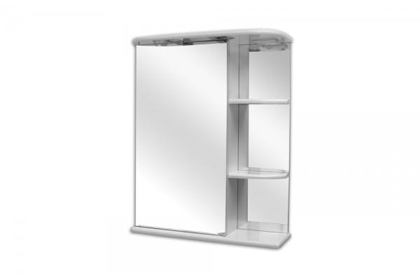 Зеркальный шкаф Нарцисс-550 Lasko левый с подсветкой