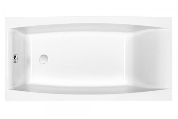 Ванна акриловая Cersanit, VIRGO 150x75, без ножек