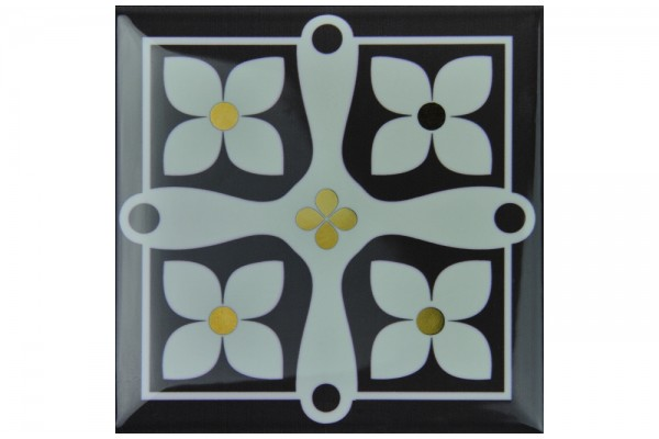 Декор Monopole Etna Gold B 15х15