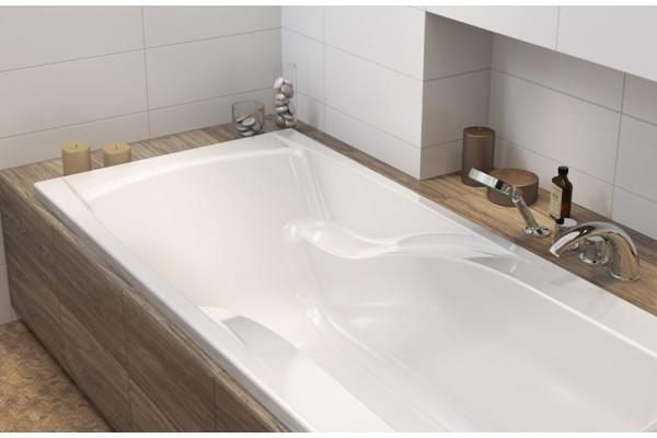 Акриловая ванна Cersanit Zen P-WP-ZEN*180 180x85