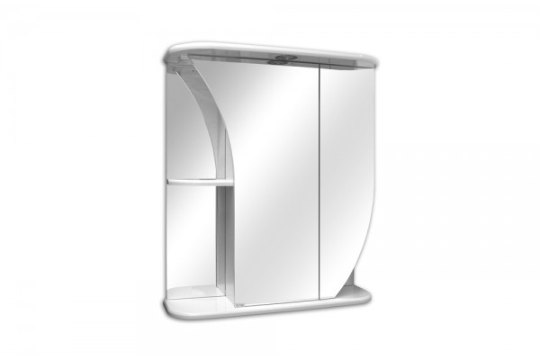Зеркальный шкаф Белла, левый