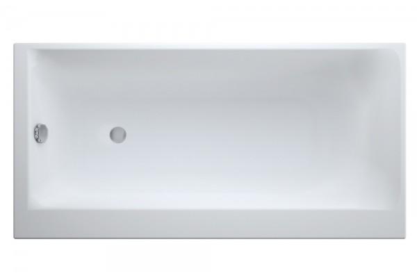 ВаннаакриловаяCersanit, SMART170x80,правая,безножек
