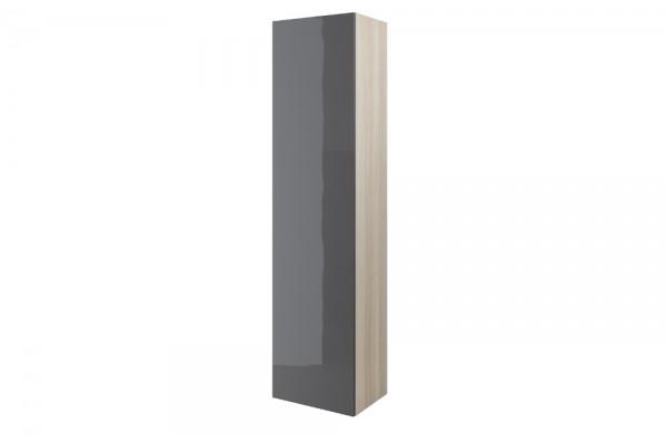 Шкаф-пенал Cersanit Smart, серый