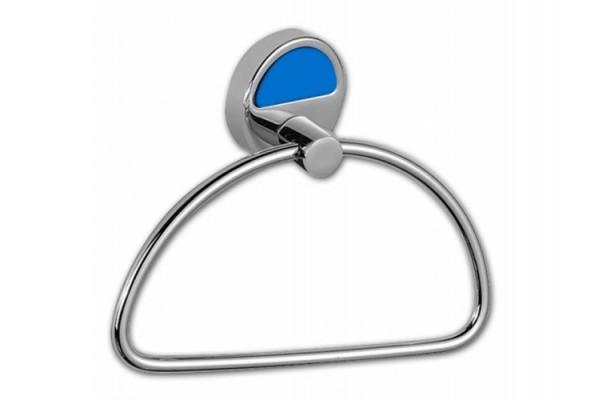 Полотенцедержатель-кольцо CAMELEON, синий