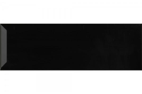 Плитка Negro Brillo Bisel 10x30 (0,75)