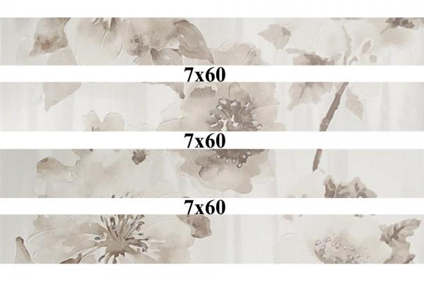 Бордюр Versal beige beauty Mix 7x60