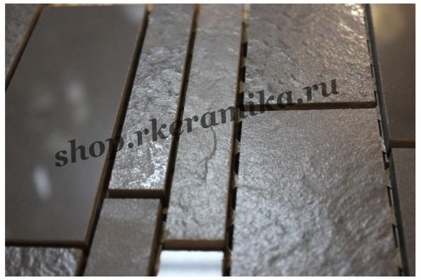 Керамогранит мозаика Моно черная универс.295х295