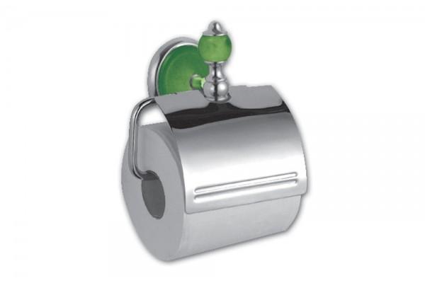 Бумагодержатель с лепестком IGUANA, зеленый