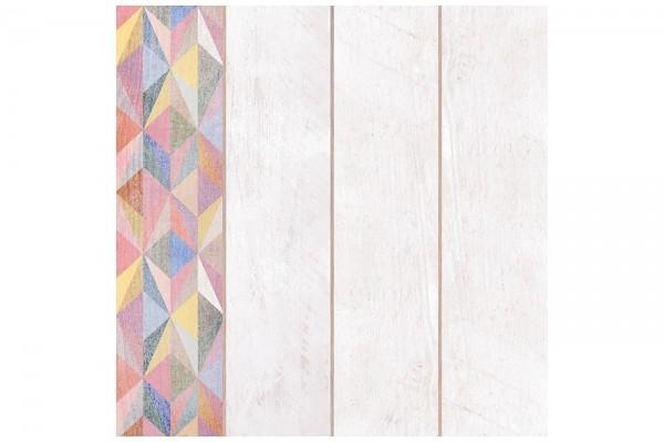 Нап. плитка Ark white decor-40 40х40 (1,60)