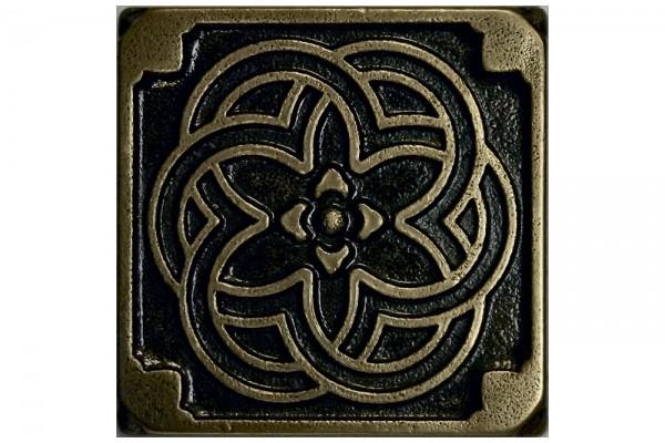 Метал. плитка KALEIDOSCOPE 5.0х5.0 Bronze
