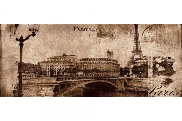 Декор Ceramika Konskie Postcard beige 1 20х50