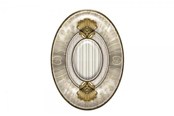 Вставка El Molino Medallon Leonora Oro-Beige 14x10