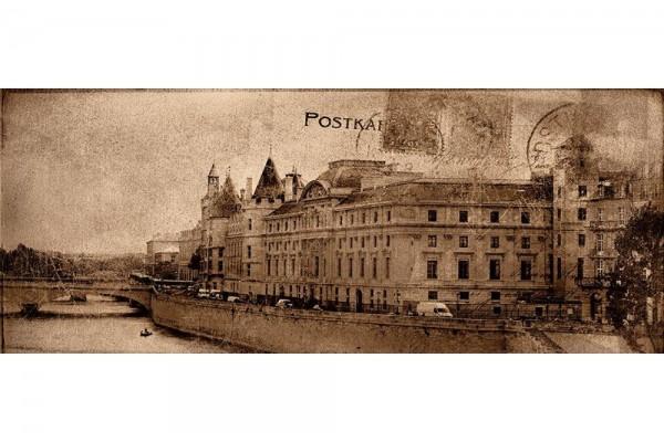 Декор Ceramika Konskie Postcard beige 2 20х50