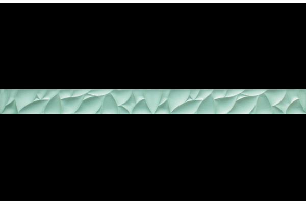 Бордюр Ceramika Paradyz Esten Listwa szklana Silver 4,8х59,5