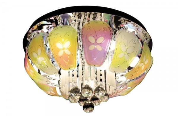 Люстра Mariposa SBC6329-9-LED,9хЕ14/40W(50*50*22)