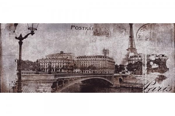 Декор Ceramika Konskie Postcard grey 1 20х50