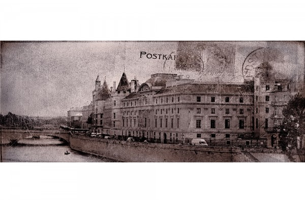Декор Ceramika Konskie Postcard grey 2 20х50