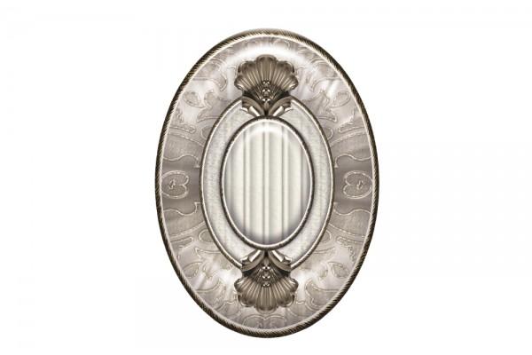 Вставка El Molino Medallon Leonora Plata-Perla 14x10