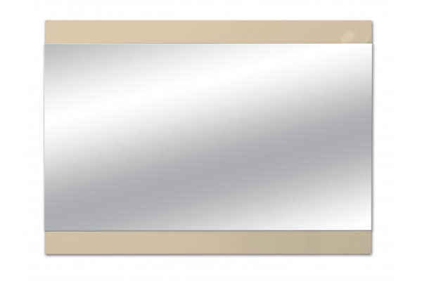 Зеркало Alcora Eternity 120, бежевое
