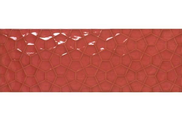 Плитка Tina Red Rect 31,6x90