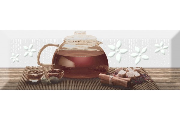 Декор Absolut Ceramika Tea 02 B Fosker 10x30
