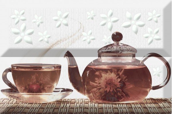Панно Absolut Ceramika Composicion Tea 02 Fosker 20x30
