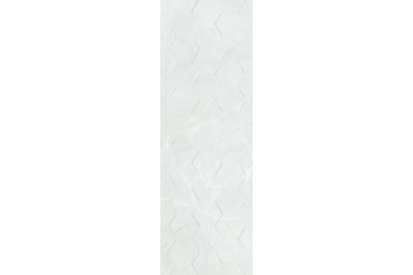 Плитка Ceramika Konskie Braga White Hexagon Rett 25x75