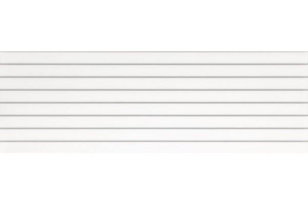 Плитка Ceramika Konskie Snow Glossy Relief 25x75