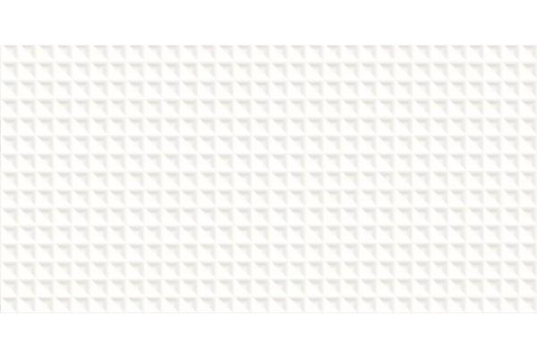 Плитка Ceramika Paradyz Esten Bianco C Struktura Rekt 29,5x59,5
