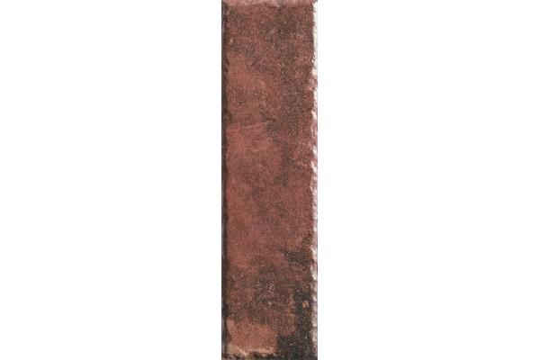 Плитка фасадная Ceramika Paradyz Scandiano Rosso elewacja 24,5x6,6