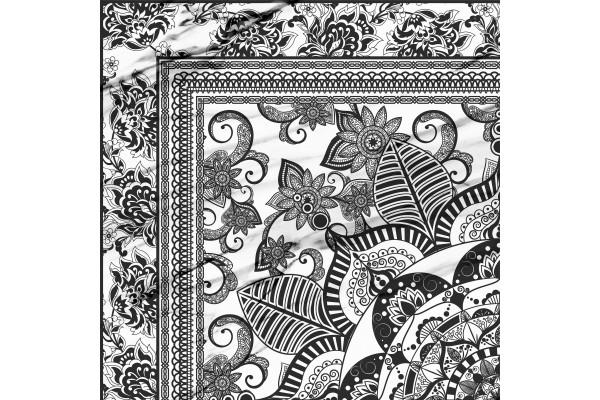 Напольная плитка Click Calacatta Roseton 45x45
