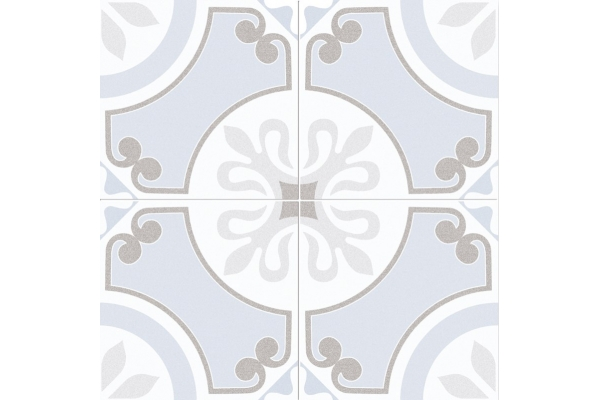Напольная плитка Dual Gres Cut Glaston Light Blue 45x45