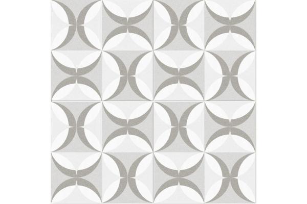 Напольная плитка Dual Gres Cut Narbonne Silver 45x45