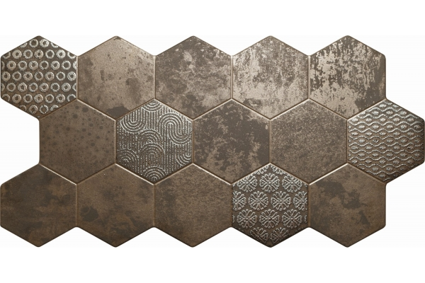 Керамогранит El Molino Hive Bronce 45,5x90