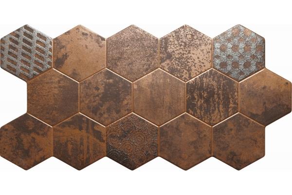Керамогранит El Molino Hive Cobre 45,5x90