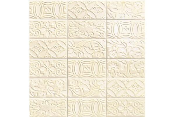 Плитка Mainzu Velvet Deco Bianco 10x20