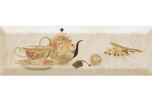 Декор Monopole Bonjour Tea Marfil 10x30
