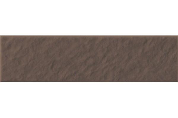 Плитка фасадная Opoczno Simple brown 3-d R 24,5х6,5