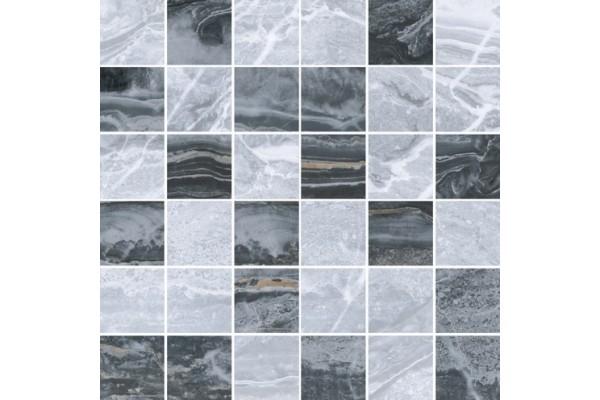 Керамогранит Vitra Bergamo мозаика микс холодная 30x30