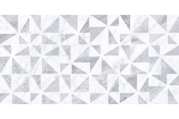 Декор Vitra Marmori 3D Каррара белый 30x60