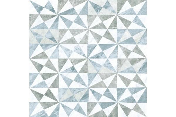 Декор Vitra Marmori геометрический микс холодный 60x60