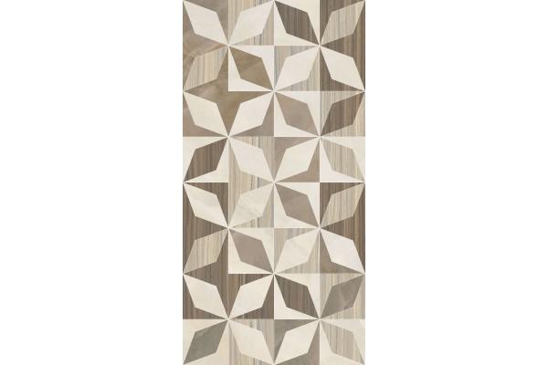 Декор Vitra Serpeggiante геометрический теплый 30x60