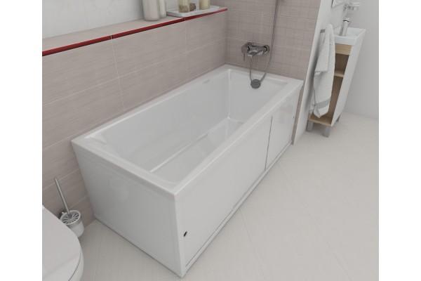 Экран под ванну боковой Cersanit 70 см тип 3, ультра белый