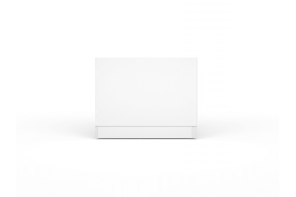 Экран под ванну боковой Cersanit Type Click 70 см, ультра белый