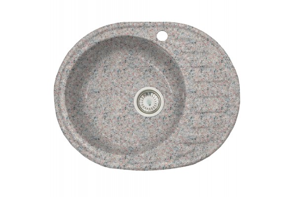 Мойка Альпина (Аврора) 600*480 мм, терра с сифоном