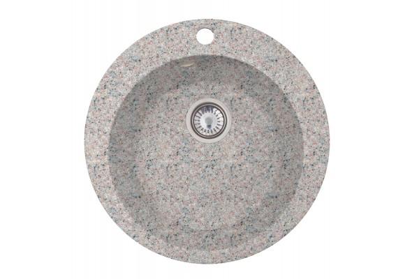 Мойка Эмили (Веста) 500*500 мм, терра с сифоном