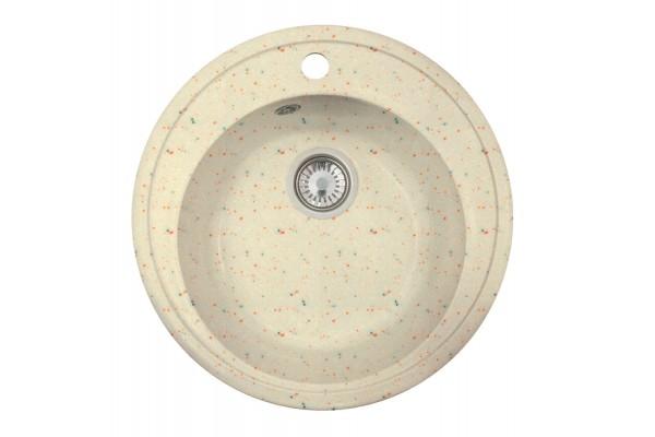 Мойка Виктория (Медея) 502*502 мм, колорадо с сифоном